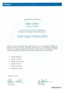 Tobit Software, Chayns – Chief Digital Officer