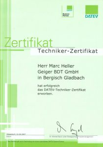 DATEV Systems Partner – Techniker