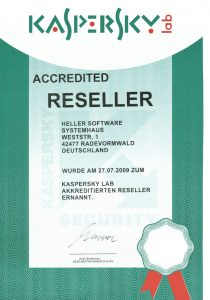 Kaspersky Lab GmbH – Accredited Reseller