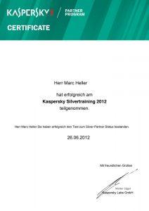 Kaspersky Labs GmbH – Silver-Partner