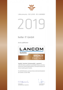 LANCOM, Bronze Partner