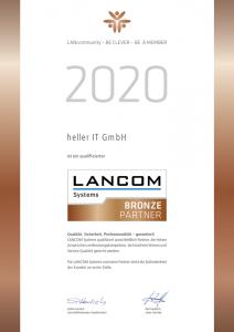 LANCOM, Bronze Partner