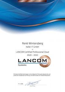 LANCOM, Certified Professional Cloud