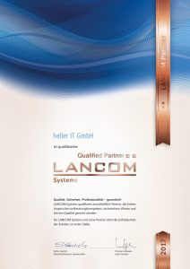 LANCOM Systems – Qualified Partner